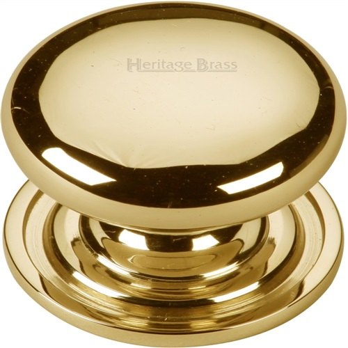 Heritage Brass Cabinet Knob in Antique Brass C2240 38-AT